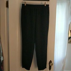 Hardly worn JCrew black ankle pants
